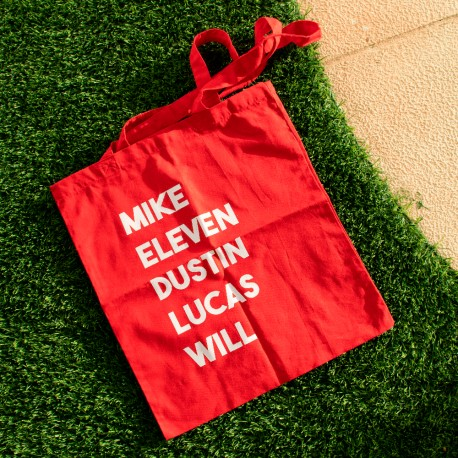 Totebag - Mike Eleven Dustin Lucas Will