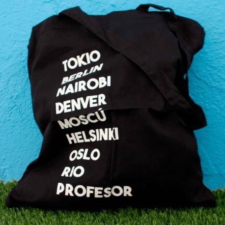 Totebag - Tokio Berlin Nairobi Denver