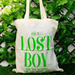 Totebag - I'm a Lost Boy and I'm Waiting for You, Peter Pan