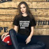T-Shirt - Introverted but willing to talk about books
